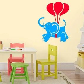 Adesivo de Parede Elefante Balões