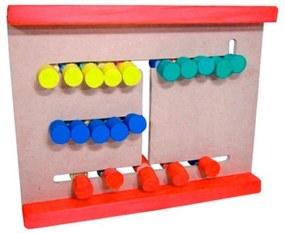 Brinquedo Educativo Jogo Passa Cores - Jottplay