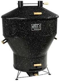 Churrasqueira a Bafo Gas ou Carvão Apolo 11 Esmaltada - Weber