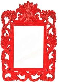 Porta-Retrato Luiz XVI Vermelho em Resina - Urban - 18x13 cm