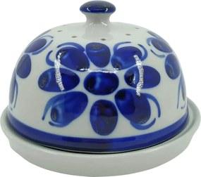 Queijeira de Porcelana Azul Colonial 15,5 cm