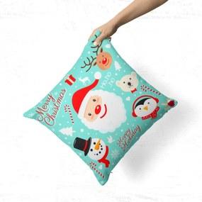 Almofada Avulsa Decorativa Happy Holiday 35x35cm Love Decor
