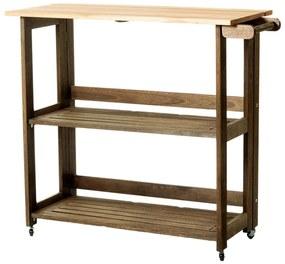 Carrinho Gourmet Dobrável Aquiles - Wood Prime MR 248588