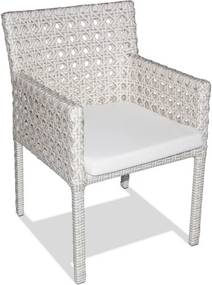 Cadeira Padua em Alumínio Revestida de Fibras Sintéticas