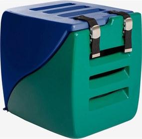 Caixa Happy Box Azul E Verde Charlie Pet