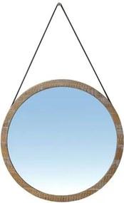 Espelho Berlim com Moldura cor Driftwood 65 cm (LARG) - 51126 Sun House