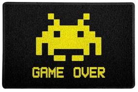 Capacho Gamer Decoração Geek 60x40cm Game Over
