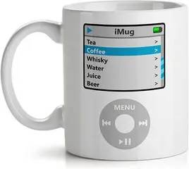 Caneca iMug iPod Apple Geek