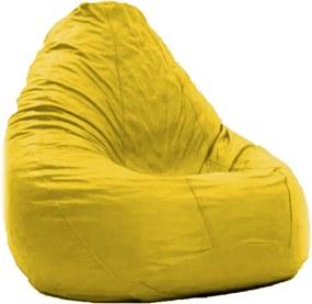 Pufe Pera Amarelo   Good Pufes