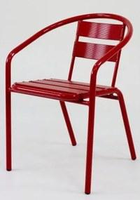 Cadeira Fun em Aluminio Vermelha - 58360 Sun House