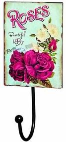 Placa Decorativa Roses Mart 4894