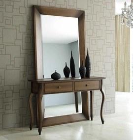 Moldura com Espelho Versalhes - Azul