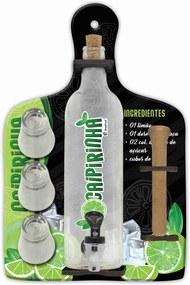 Pingometro - caipirinha - 3 copos