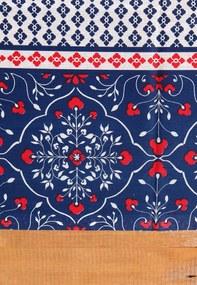 Toalha de Mesa Santista Retangular Royal Catarina 1,40x2,10m Vermelha