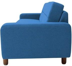Sofá Gran Belo Decor Medlyn 260cm Veludo Azul