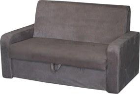 Sofá Cama Soft C/ Baú Tecido 374 374