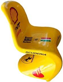 Cadeira Panton Scuderia Ferrari F1