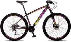 Bicicleta Aro 29 Quadro 19 Alumínio 27v Freio Hidráulico Volcon Preto/