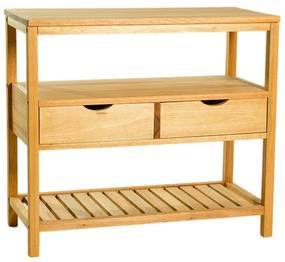 Bancada 2 Gavetas Aquiles - Wood Prime MR 248605