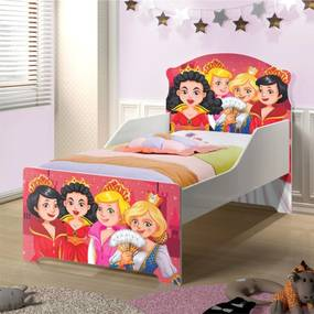Cama Infantil Uly Princesas Medievais CASAH