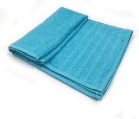 Toalha De Rosto Barra - Cor Azul Claro 45x69 cm
