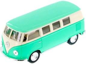 Miniatura 1967 Volkswagen Kombi Escala 1:32 Verde Pastel