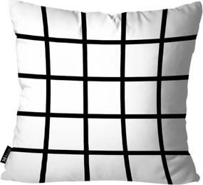 Almofada Mdecore Abstrato Branco 35x35