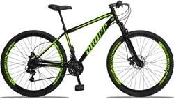 Bicicleta Aro 29 Quadro 17 Aço 21 Marchas Suspensão Freio a Disco Mecâ