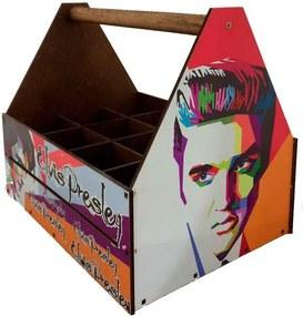 Caixa Com Divisórias Elvis Presley