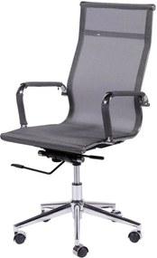 Cadeira Oia Decor Escritório Cinza