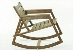 Cadeira de Balanço Janis Nogueira - Mão & Formão