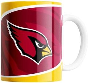 Caneca NFL Arizona Cardinals de Porcelana 325ml