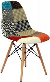 Cadeira Eiffel Eames DSW PatchWork