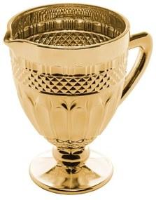 Jarra Vidro Brand Dourado Metalizado 1 Litro 28305 Bon Gourmet