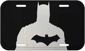 Placa Decorativa Batman Bust Black