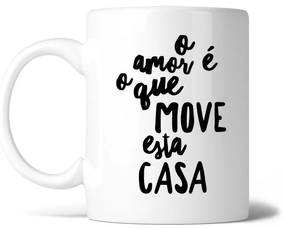 Caneca O amor move