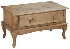 Mesa de Centro com 2 Gavetas Basculantes - Wood Prime MY 25946