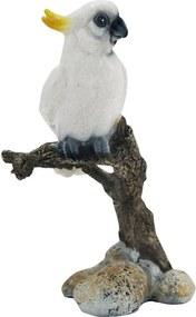 Escultura De Pássaro Em Resina Aquiles