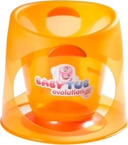 Banheira Babytub Evolution Laranja