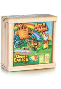 QUEBRA-CABEÇA BIBLÍCO ARCA DE NOÉ