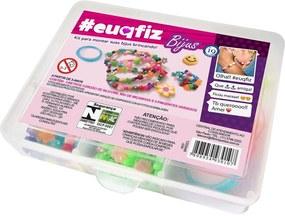 Caixa Organizadora #Euqfiz Bijus Kit P Branco