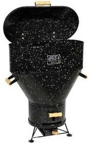 Churrasqueira Apolo 9 a Bafo Gas ou Carvão Esmaltada - Weber