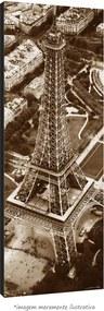 Poster Torre Eiffel - Vs Sépia (170x60cm, Apenas Impressão)
