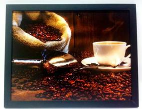 Quadro Grãos de Café