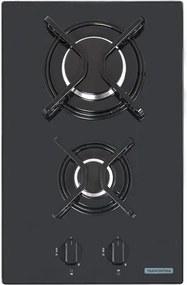 Cooktop a Gás Domino 2 Queimadores 31x51cm - 94702/201 - Tramontina - Tramontina