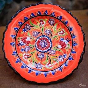 Prato Turco Mandala Floral 18cm