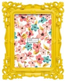 Porta Retrato Mart Travertino Amarelo 10x15