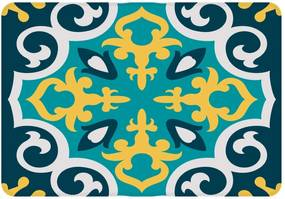 Tapete Love Decor de Sala Wevans Mandala Color Verde