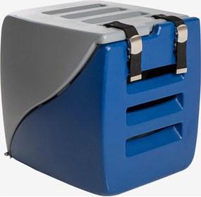 Caixa Happy Box Cinza E Azul Charlie Pet
