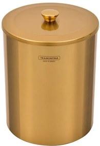 Lixeira Inox Polido Gold 5L - 94540/051 - Tramontina - Tramontina